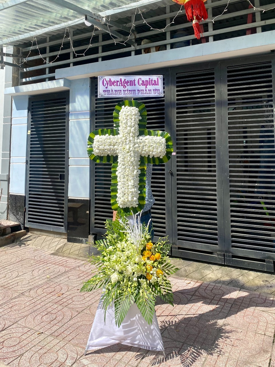 hoa đám tang - công giáo