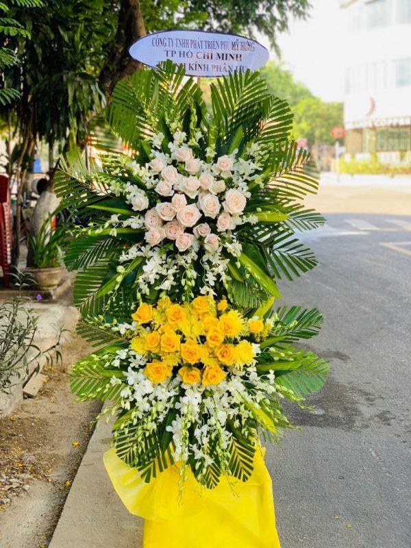 hoa đám tang châu đức