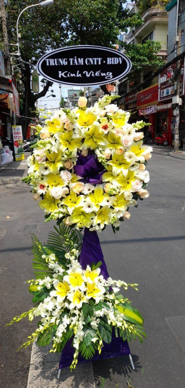 hoa đám tang bình long