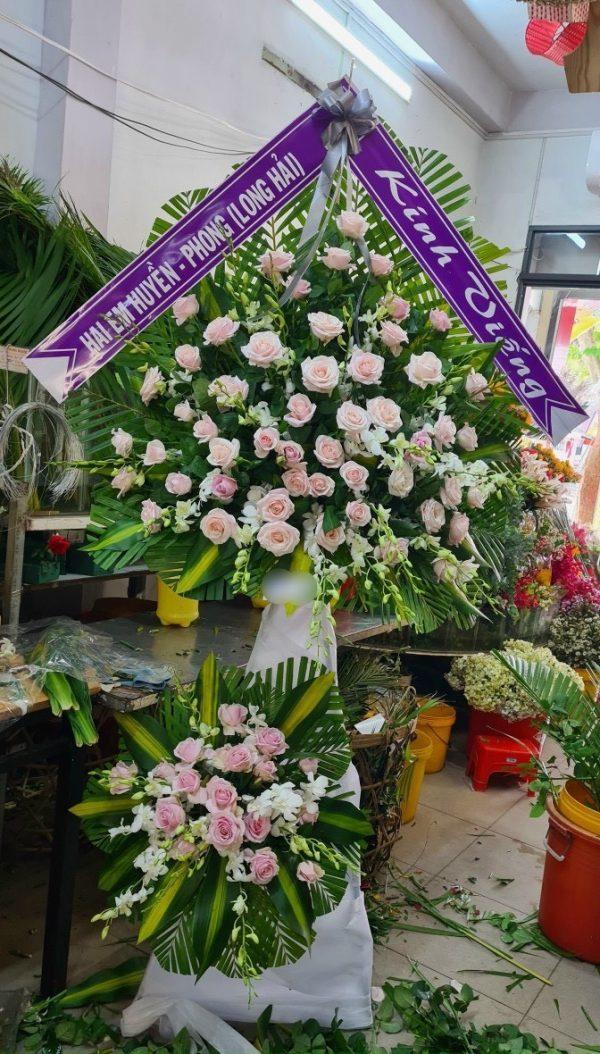 hoa đám tang giá rai
