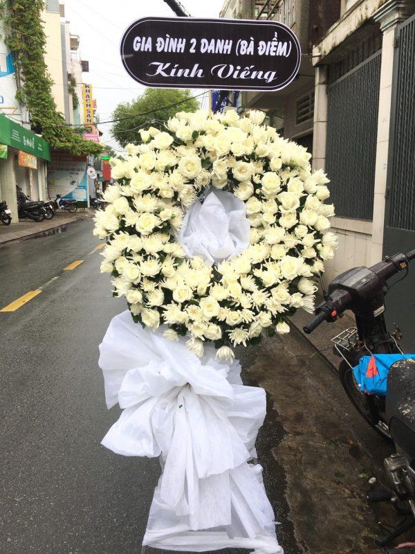 hoa đám tang giồng riềng