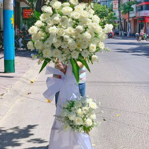 hoa đám tang tam nông