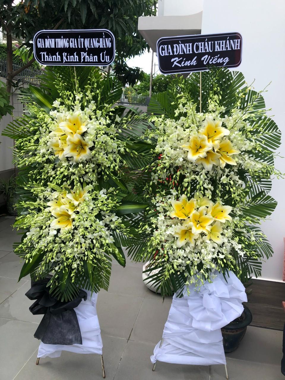 hoa đám tang thanh bình