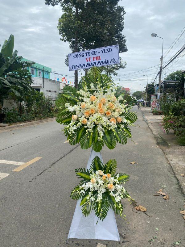 hoa đám tang tiểu cần