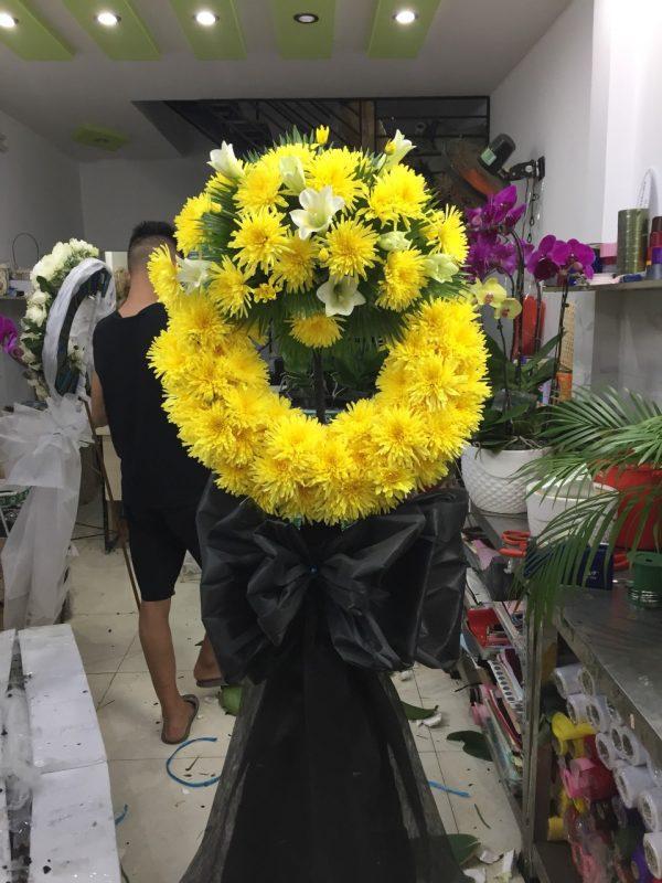 hoa đám tang cần giờ