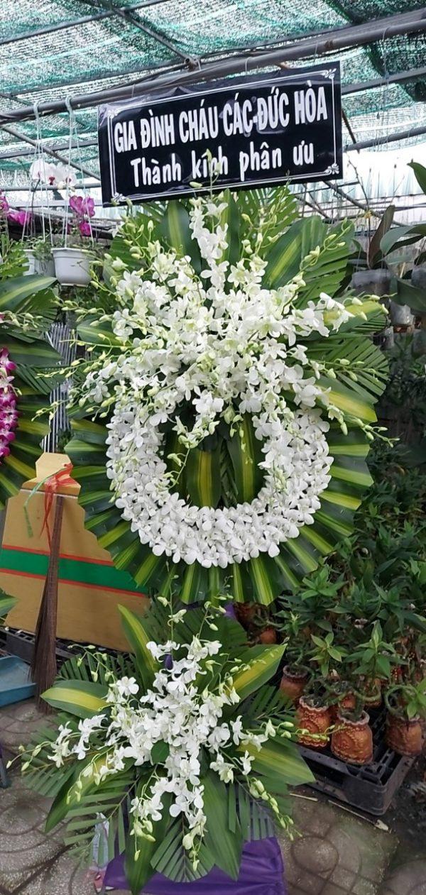 hoa đám tang đông phú