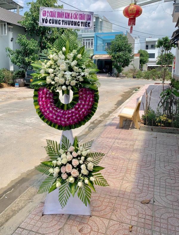 hoa đám tang đức huệ