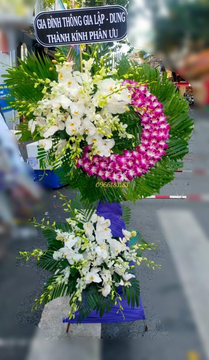 hoa đám tang hòa long
