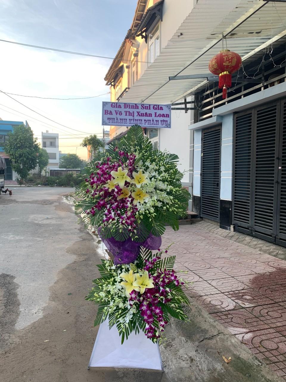 hoa đám tang nghĩa hành
