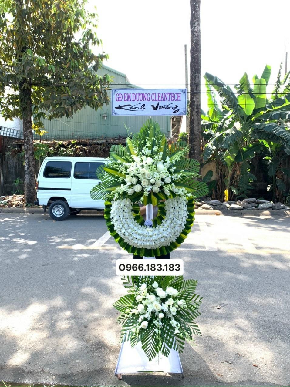 hoa đám tang quận 10