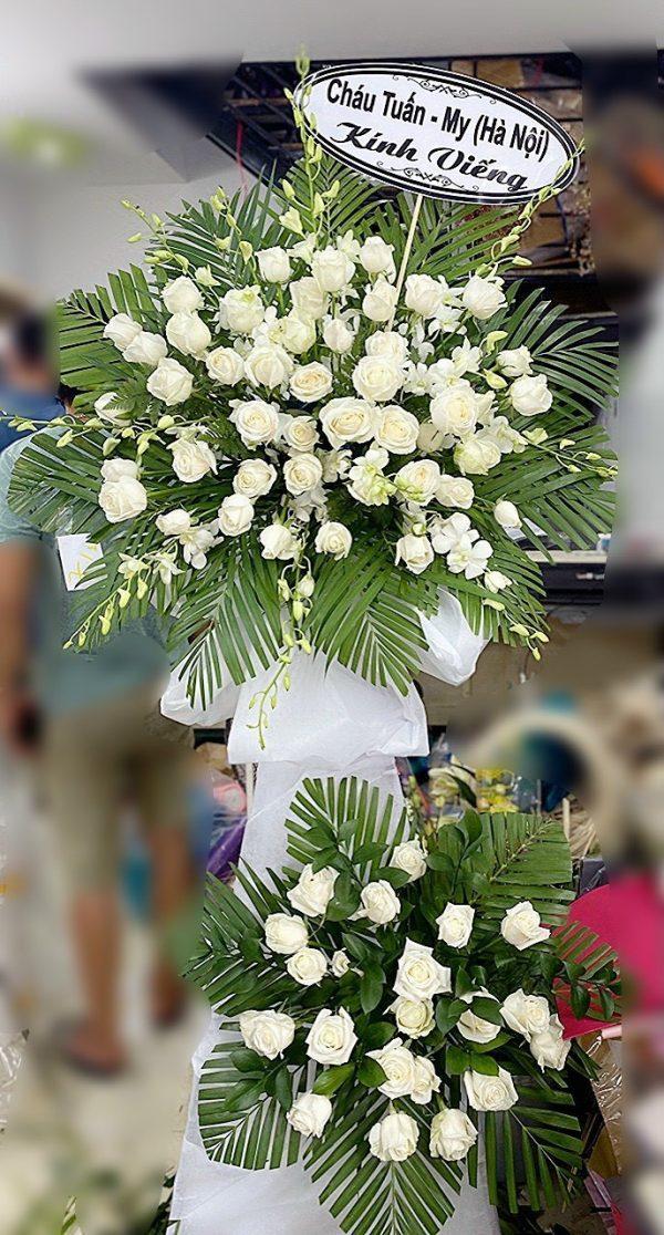hoa đám tang tuy phong