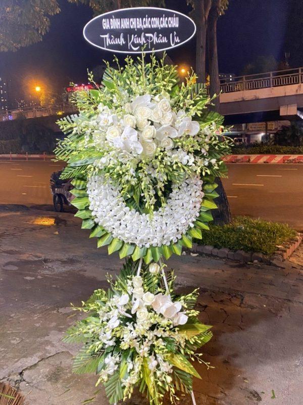 hoa đám tang vạn ninh