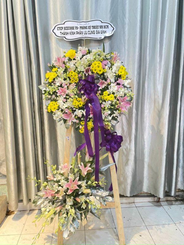 hoa đám tang phường an thạnh