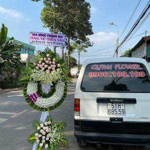 hoa đám tang phường dĩ an