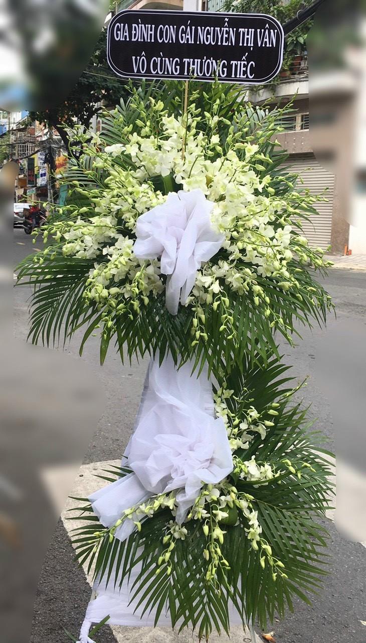 hoa đám tang phường lái thiêu