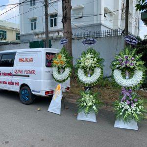 hoa đám tang phường tân bình