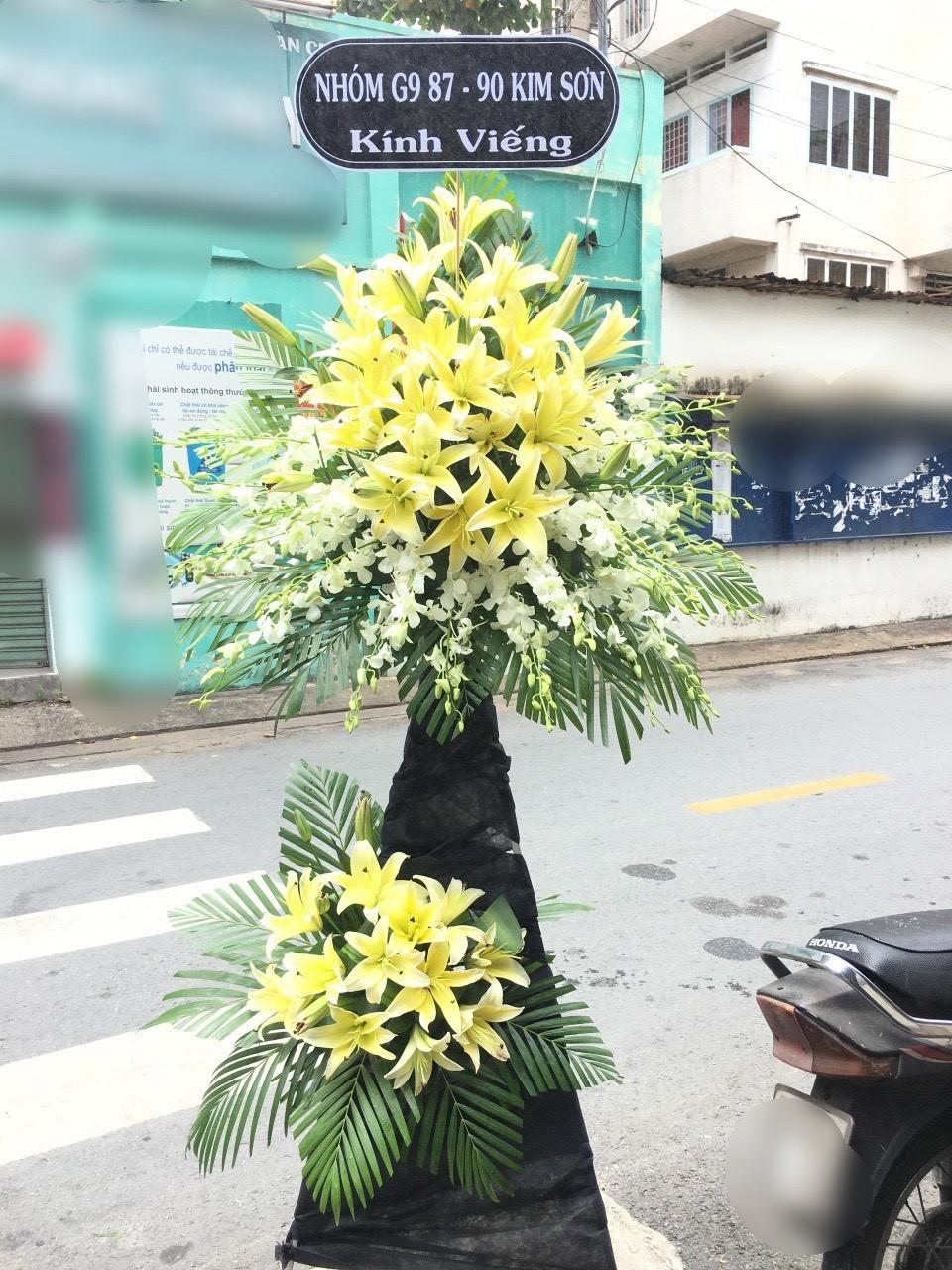 hoa đám tang phường vĩnh phúc